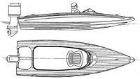 Общий вид мотолодки «Леви-16»