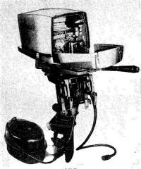 Общий вид мотора «Москва-25»