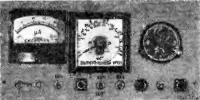 Общий вид панели измерителя скорости