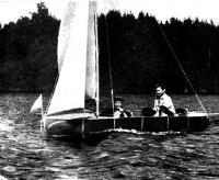 Общий вид секционной лодки