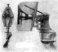 Общий вид угловой поворотной колонки ПОРР-Зс