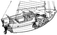 Общий вид яхты «Дельфин»