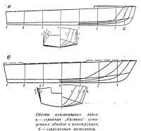 Обводы алюминиевых лодок