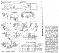 Обводы и конструкция однокорпусной микромотолодки