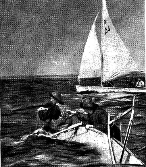 Одесским яхтсменам не везло