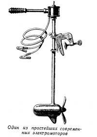 Один из простейших современных электромоторов