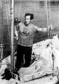 Олимпийский чемпион В. Манкин