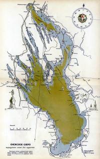 Онежское озеро: маршрутная схема для туристов