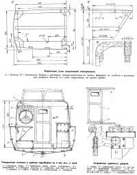 Отдельные узлы конструкции