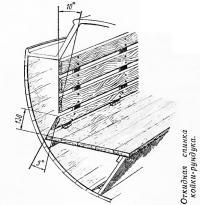 Откидная спинка койки-рундука