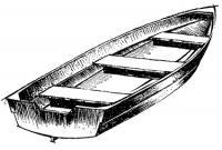 Открытая универсальная лодка