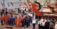 Открытие соревнований в Центральном яхт-клубе ДСО Труд