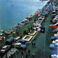Панорама берега у места проведения соревнований