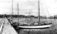 Панорама гавани яхт-клуба Котвица