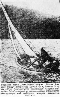Парусная лодка «Аскеладден»