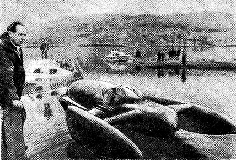 Перед последним заездом. Дональд Кэмпбелл и «Синяя птица» на озере Конистон