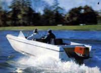 Первая проба 60-сильного «Кресчента» на невской воде