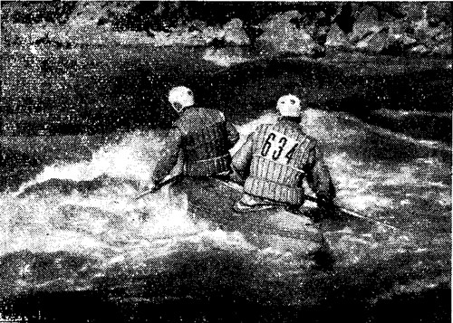 Первые всесоюзные соревнования на реке Риони