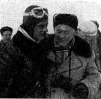 Первый чемпион Союза в классе аэродинамических буеров В. Гире