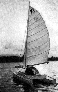 Первый катамаран постройки 1960 г.