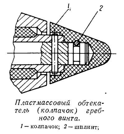 шпонка винта ветерок 8