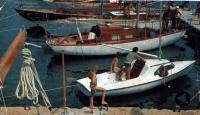 Пластмассовый швертбот «Рая» и яхта «Смарагд-2»