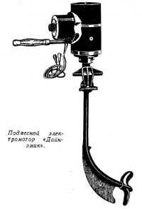 Подвесной электромотор «Дайнэмик»