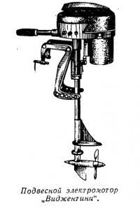 Подвесной электромотор «Виджентини»