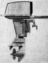 Подвесной мотор «Альбатрос»