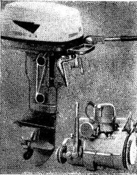 Подвесной мотор Терхи мощностью 14 л. с. и 6-сильный двигатель Вире