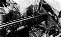 Погон грота-гика-шкота установлен на бимсе кокпита