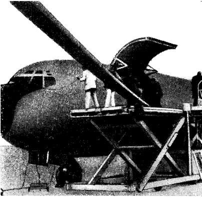 Погрузка на самолет новой мачты для «Дюика»