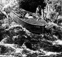 Пороги на реке Шелонь