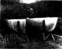 Постройка первых корпусов катамаранов «КВ-73»