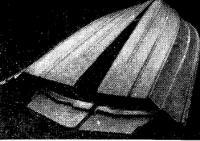 «Поврежденный» корпус мотолодки «Дракон»