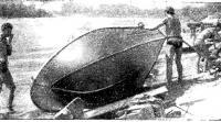 При первой возможности мы осматривали состояние корпуса нашей лодки