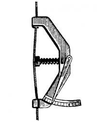 Прибор для проверки натяжения вант