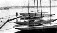 Причалы ленинградского яхт-клуба «Маяк»