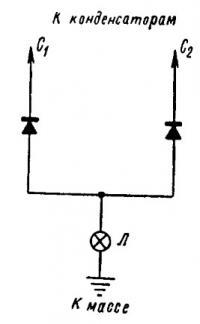 Принципиальная схема освещения