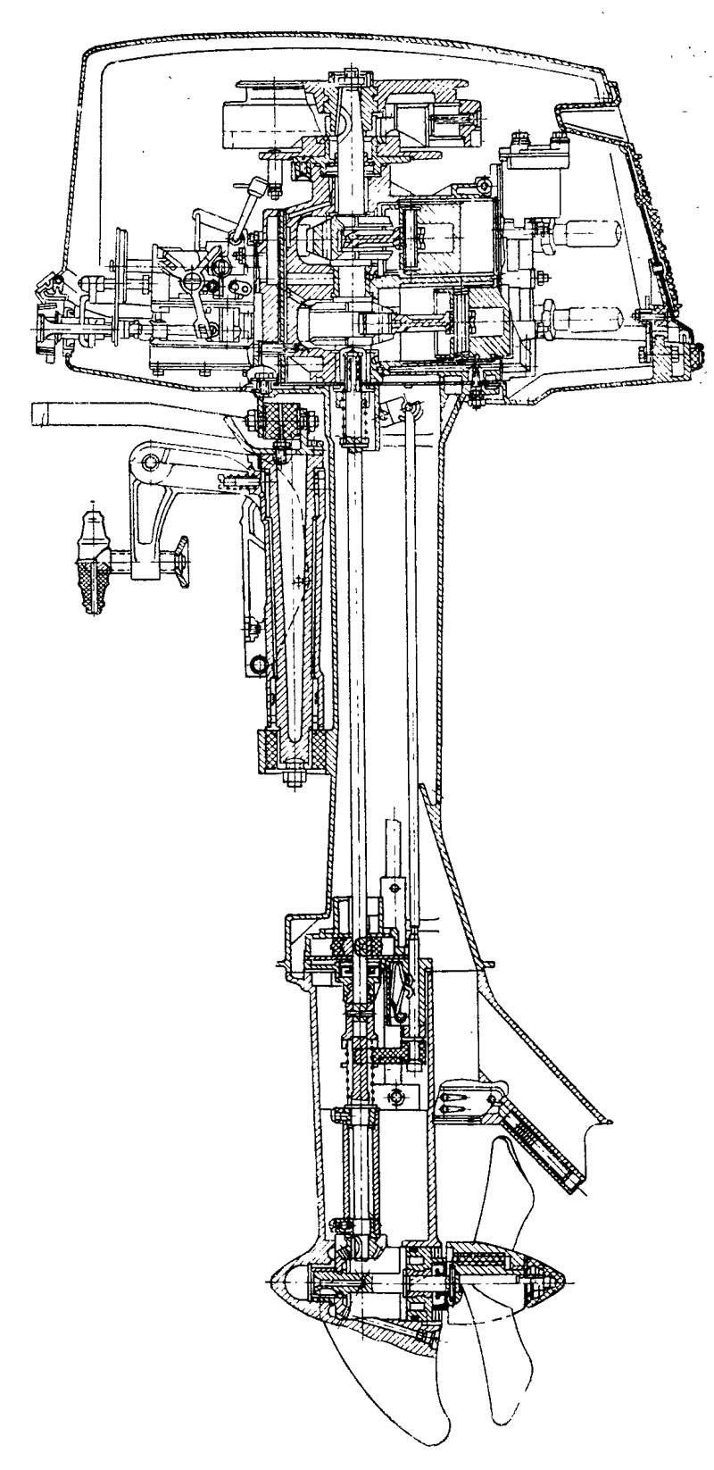 Ремонт системы охлаждения лодочного мотора своими руками