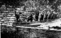 Прохождение одного из шлюзов Обь-Енисейского канала