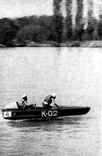 Р. Упатниек и Е. Ивановский, показавшие рекордную скорость на дистанции 1 км
