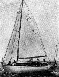 «Раскол» — первая яхта в классе В
