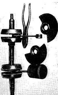Разъемный коленчатый вал и стальные золотники