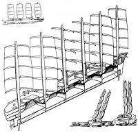 Разрез «Динашифа» и применение такого же вооружения на пассажирском лайнере и спортивных яхтах