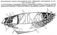 Реконструкция корпуса армоцементной яхты «Цементал»