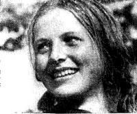 Рекордсменка СССР в прыжках с трамплина Т. Рецкая