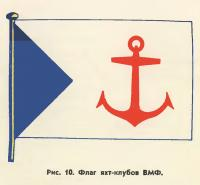Рис. 10. Флаг яхт-клубов ВМФ