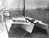 Рис. 10. Призер транстихоокеанских гонок — «Три Стар»