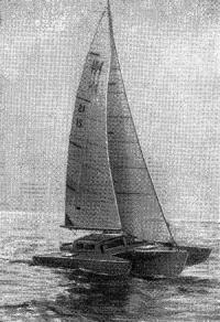 Рис. 13. «Кросс-24» под парусами